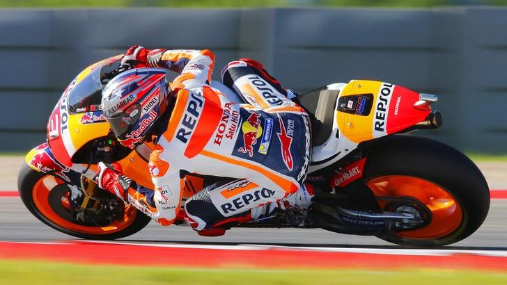 MotoGp Usa, Marquez: «Adesso sono più vicino in campionato»