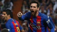 Liga, Messi affonda il Real: remuntada Barça a 2,65