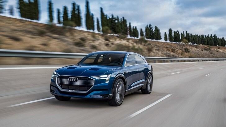 Audi, aperti gli ordini per la prima auto elettrica