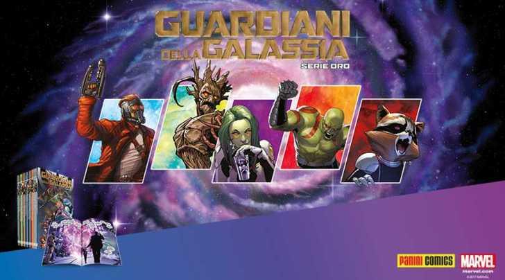 Guardiani della galassia, le avventure a fumetti