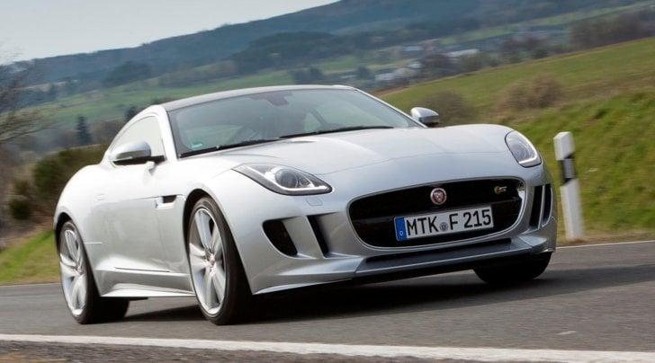 Jaguar F-Type S Coupé: prova su strada