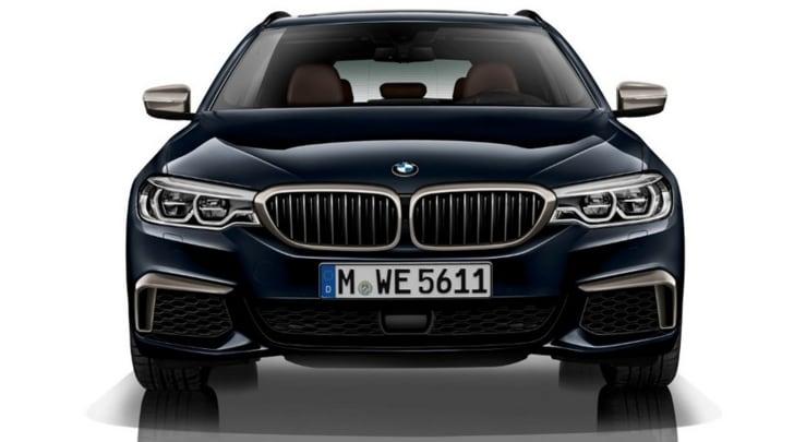 BMW M550d xDrive, il quadri-turbo diesel più potente