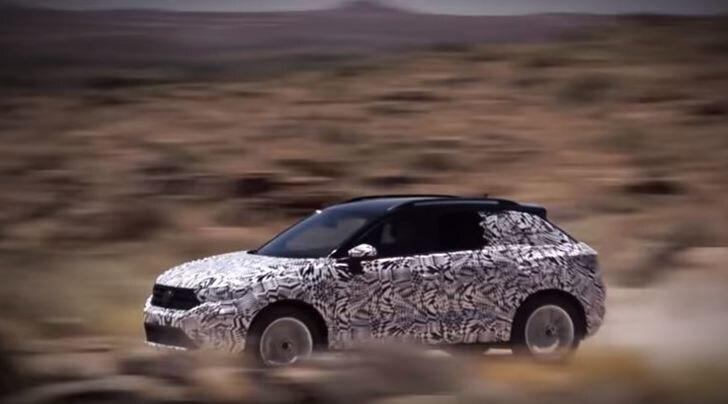 T-Roc, il nuovo Suv compatto Volkswagen