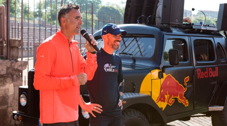 Gran finale per le running class della Wings for Life World Run 2017