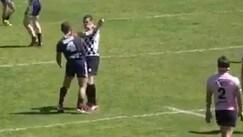 Francia, giocatore del Saint-Esteve stende l'arbitro con un pugno