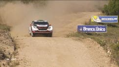 Rally Argentina, Evans in testa
