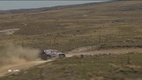 Rally Argentina, Evans leader ma Neuville è tornato
