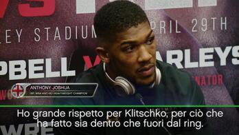 "Joshua: ""Sfidare ancora Klitschko? No problem"""