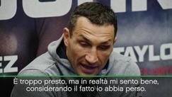 "Klitschko: ""Rivincita con Joshua? C'è una clausola..."""