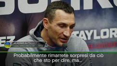 "Klitschko: ""Non mi sento sconfitto"""
