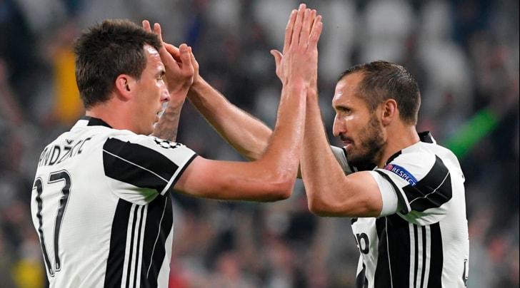 Chiellini: «Attenzione al Monaco. Mandzukic? È il simbolo della Juventus»