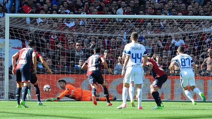 Serie A Genoa-Inter 1-0, il tabellino
