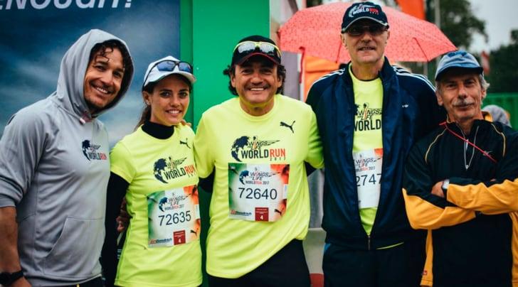 I protagonisti della Wings For Life World Run 2017
