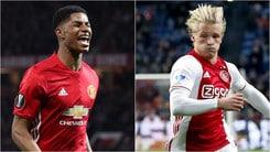 Europa League: la finale di Stoccolma sarà Ajax-Manchester United