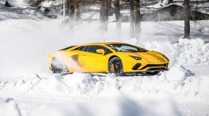 Aventador S, l'abominevole Toro delle nevi
