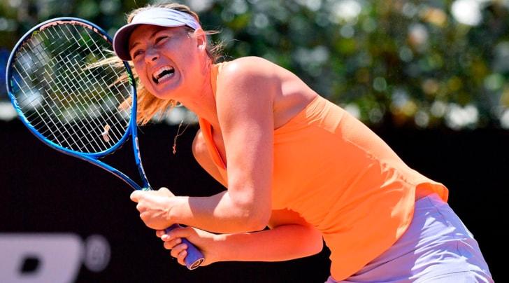 Tennis, Internazionali d'Italia: per la Sharapova esordio ok