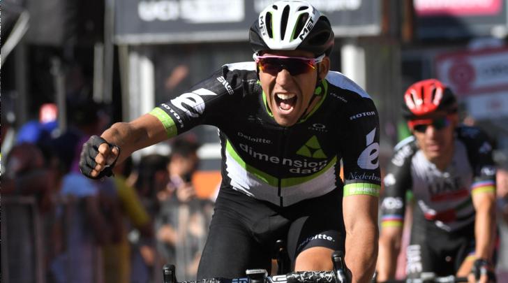 Giro d'Italia, Fraile vince l'11ª tappa.Dumoulin sempre rosa