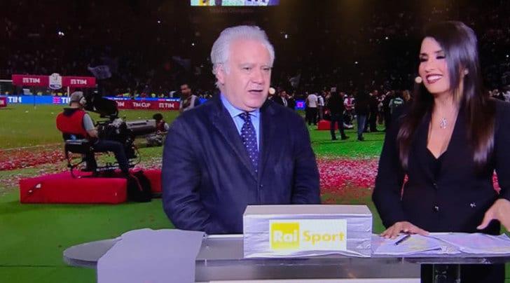 Coppa Italia, ascolti tv record: oltre 10 milioni per Juventus-Lazio