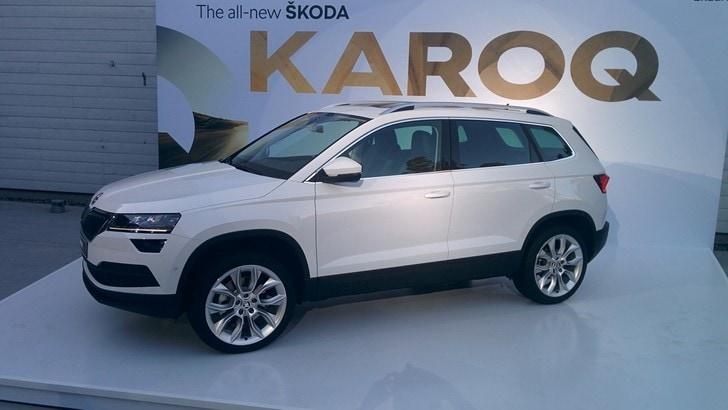 "Skoda Karoq, ora la Kodiaq ha una ""sorellina"""
