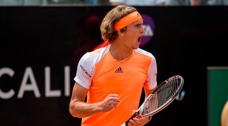 Internazionali d'Italia: prima semifinale Zverev-Isner