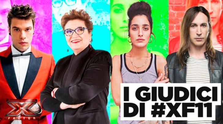 X Factor, la nuova giuria: Fedez, Mara Maionchi, Levante e Manuel Agnelli