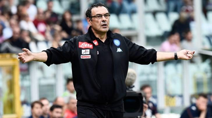 Napoli, Sarri: «Scudetto? Il fatturato pesa sulle vittorie»