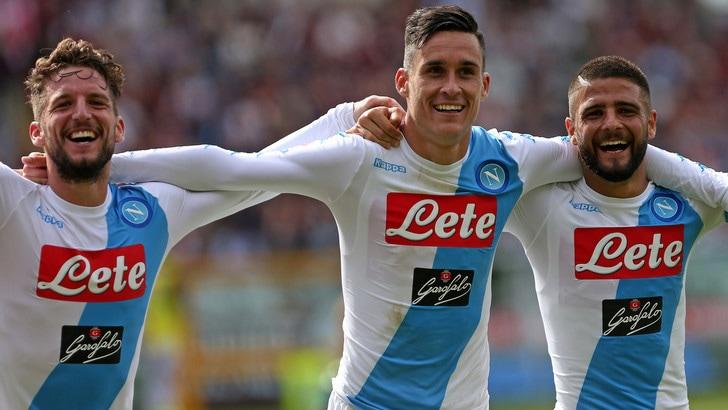 Serie A: Napoli-Fiorentina, in quota vola l'«1»