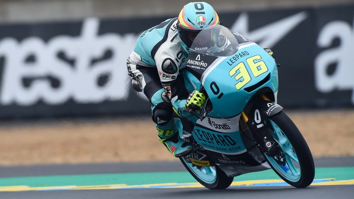 Moto3 Le Mans, Mir vince in solitaria