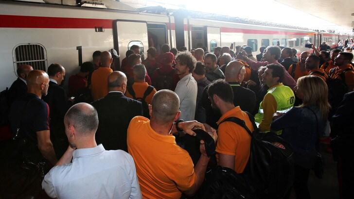 Stazione Termini, guasto elettrico: treni bloccati