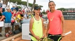 Il Foro Italico scopre lo Strike Tennis con la Schiavone