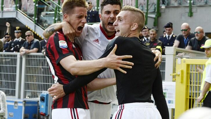 Serie A Milan-Bologna 3-0, il tabellino