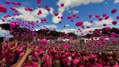Race For The Cure: A Roma in 65.000 per la lotta contro i tumori al seno