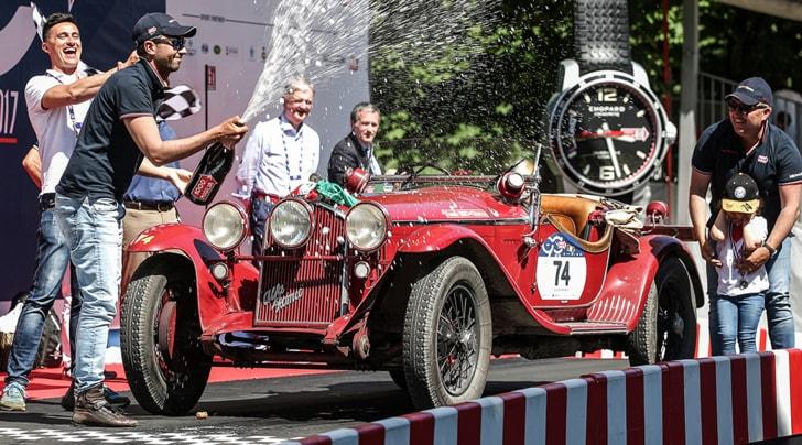 Mille Miglia, torna a vincere l'Alfa di Nuvolari
