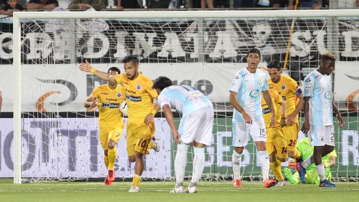 Cittadella-Carpi 1-2: Castori ringrazia Lollo e Mbakogu