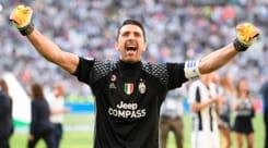 Buffon rende onore a Totti: «Mi ha segnato gol che erano capolavori»