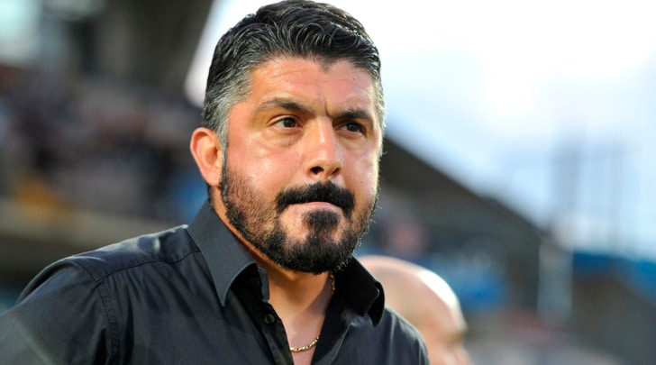 Gattuso: «Champions League? Tifo Juventus»