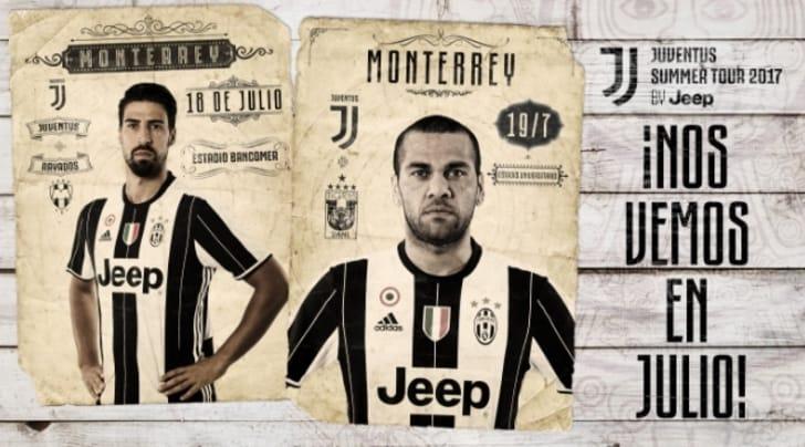 Juventus col sombrero: a luglio tourneé in Messico