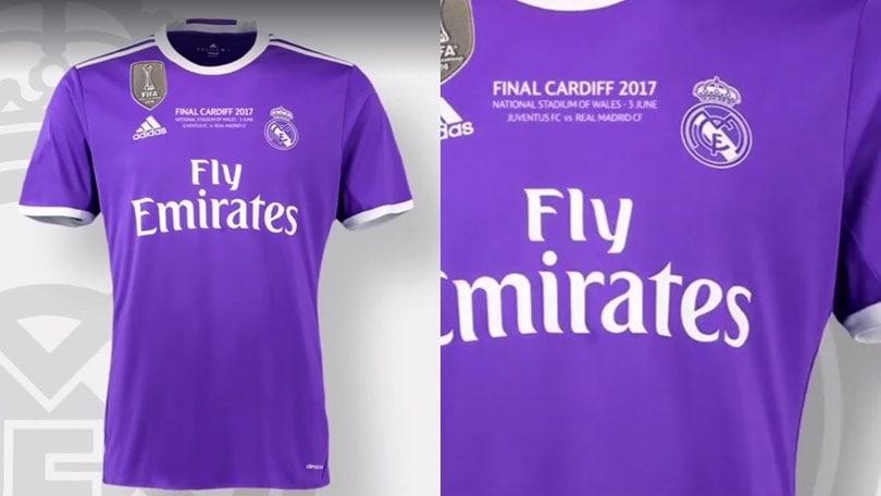 Finale di Champions League, ecco la maglia del Real Madrid