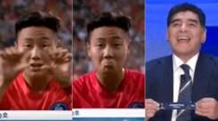 Mondiali U-20, l'esultanza del sudcoreano sbeffeggia Maradona