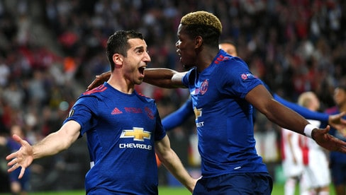 Ajax-Manchester United 0-2: Mourinho e Pogba conquistano l'Europa League