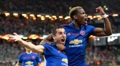 Europa League, Ajax-Manchester United: Pogba eMkhitaryan firmano il trionfo