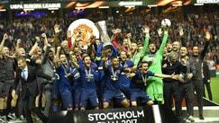 Europa League al Manchester United, festa a Stoccolma per Mourinho e Pogba