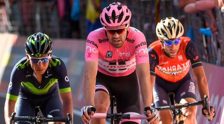 Giro, Dumoulin al veleno con i rivali. Nibali: «Deve stare attento»