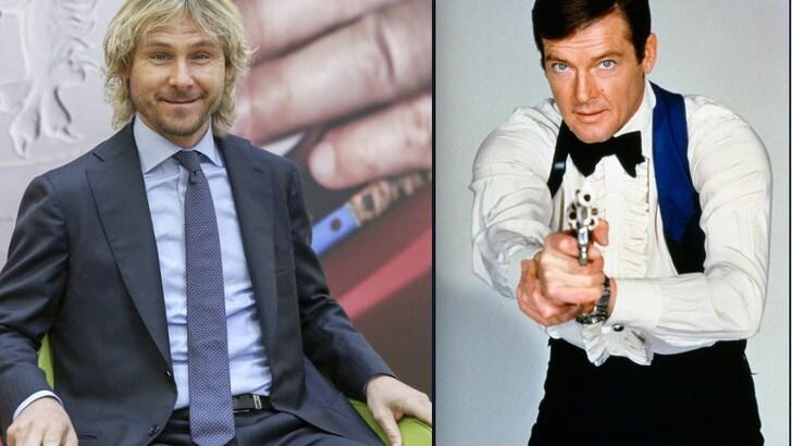 007, licenza di amare la Juve. «Era un tifoso di Nedved»