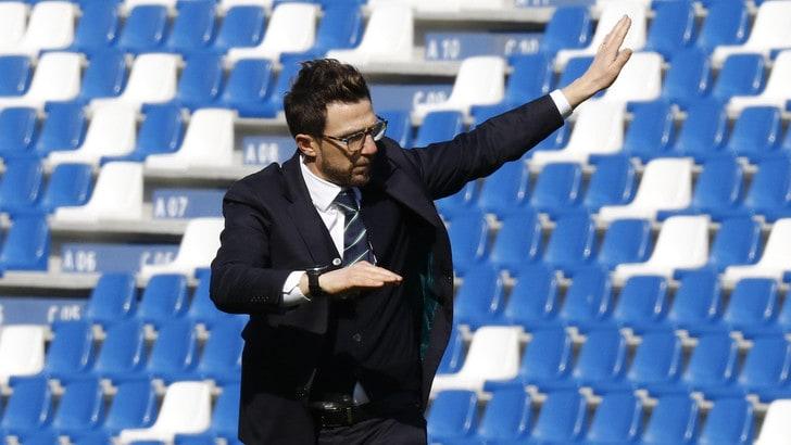 Calciomercato Roma, Di Francesco: «Decisione sul futuro dopo Torino»