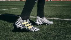 Adidas lancia Nemeziz: il nuovo scarpino è bianconero