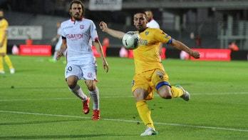 Serie B, Frosinone - Carpi: gialloblu avanti nel ritorno a 1,85