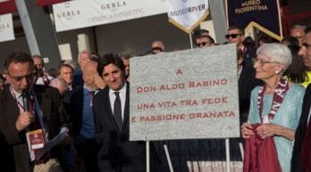 Torino finalmente in campo per don Aldo: apre il Filadelfia