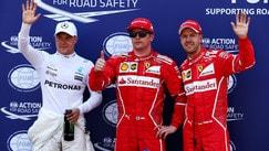 Gp Monaco show: la prima fila è tutta Ferrari