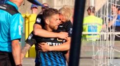 Serie A: Atalanta-Chievo 1-0, Papu-gol ed è festa per l'Europa